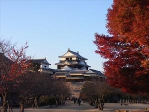 松山城紅葉